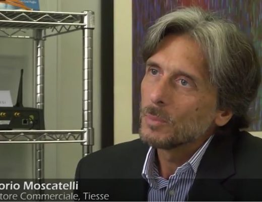Vittorio Moscatelli, Commercial Director of Tiesse